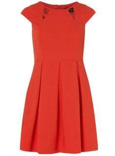 Melon Cutout Dress - Dresses - Clothing