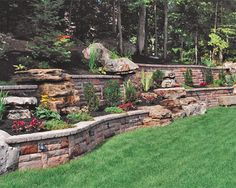 Backyard Designs With Retaining Walls how to build a timber retaining wall Find This Pin And More On Backyard Ideas Retaining_walls_ideas_with_steps Retaining Wall Ideas