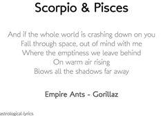 Scorpio & Pisces
