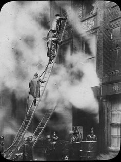 When Men Were Men and Ladders Were Wood - My Firefighter Nation