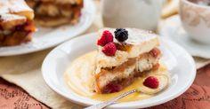 Pudding de pain perdu crème anglaise