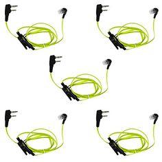 US STOCK Covert Acoustic Tube Headset//Earpiece Kenwood Radio NX200//NX210//NX300