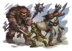 fantasy art, hobgoblins - Google Search