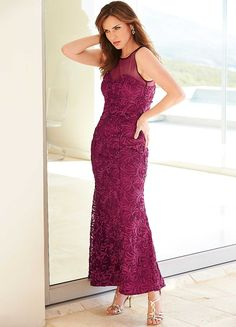 Cornelli Maxi Dress