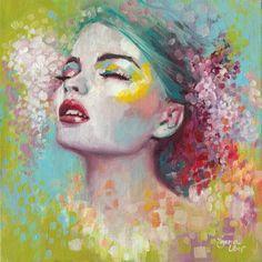 Emma Uber. Se trata de una imagen creada , cuyo soporte es lienzo y técnica es óleo. E l tipo de registro es adición.