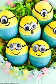 Ak máte vo svojom okolí deti, poprípade čakáte na Veľkú noc detskú návštevu, garantujeme vám, že mimoňské vajíčko ich poteší najviac!