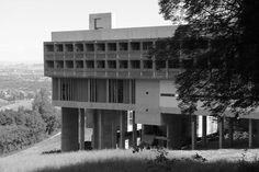 FR, Éveux, Convent La Tourette, Le Corbusier, 1960.