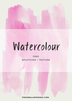 A new freebie is out. Head out to the blog to download your free pack of watercolour textures and splashes in high resolution. The files are in PNG format and so easy to use.