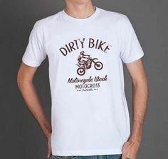 Camiseta Motocross - Machine Cult - Kustom Shop - Camisetas de carro e moto