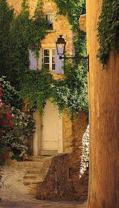 Barroux, Provence-ALpes Coté d' Azur. France. by irma