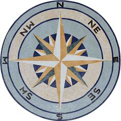Use the guidance of the Nautical Mosaic Compass Rose to walk on an undisturbed path to style! The simplistic design, the impeccable craftsmanship and the intricate significance of this nautical symbol, are all features that make this mosaic Compass Rose more than just an eye-catching decorative item ! , Get it now for $334.