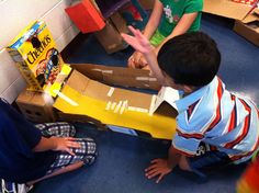 These creative kids were inspired by Caine's Arcade and built their own!