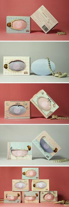 KISH Soap (Student Project) packaging by Shivangi Sah