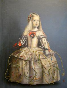 las menina's little princess (by Maria Soria)