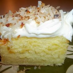 Cream Cheese Coconut Cake | Boy Meets Bowl