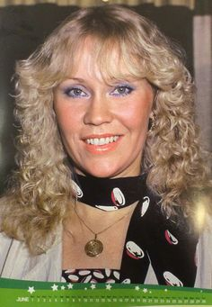 ABBA Fans Blog: June 2015 Abba Calendar Pictures #Abba #Agnetha http://abbafansblog.blogspot.co.uk/2015/05/june-2015-abba-calendar-pictures.html