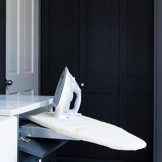 Drawer with Slide Out Ironing Board