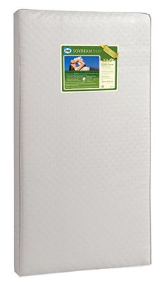 Sealy Soybean Foam-Core Infant/Toddler Crib Mattress - Hypoallergenic Soy Foam Extra Firm Durable Waterproof Cover Lightweight Air Quality Certified Foam Design Pattern May Vary x Price Best Crib Mattress, Toddler Bed Mattress, Nursery Crib, Nursery Furniture, Best Baby Cribs, Baby Sleep, 6 Years, Pattern Design, Infant Toddler