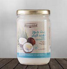 Net vol. 500 ml fl. Coconut Oil, Mason Jars, Egypt, Mason Jar, Glass Jars, Coconut Oil Uses, Jars