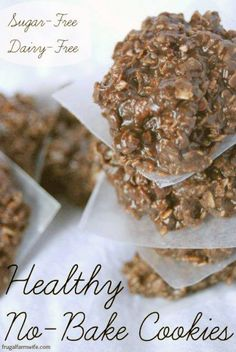 healthy No Bake Cookies