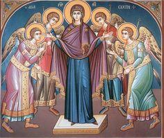 Το Μακεδονικό: Η εορτή της αγίας Σκέπης της Θεοτόκου (1η και 28η ...