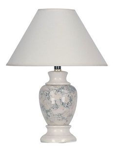 ORE International 609IV 15 Ceramic Accent Table Lamp, Ivory by Ore International, Inc.. $23.97. Shipping Method FedEx or UPS. Type Table. Length 10 in.. Width 10 in.. Height 13 In.. This decorative accent lamp gives a side table a hint of subtle color and lighting.