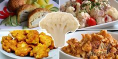 Cauliflower, Good Food, Food And Drink, Low Carb, Chicken, Meat, Vegetables, Recipes, Cauliflowers