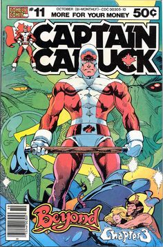 Captain Canuck back in the day