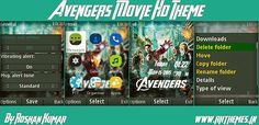 Avengers Movie HD Theme For Nokia X2-00, X2-02, X2-05, X3-00, C2-01, 206, 208, 301, 2700 & 240×320 Devices ~ Rkthemes   Download Free Themes For Nokia and Android Phones