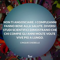 Frasi buon compleanno 50 anni divertenti cinquecosebelle Happy B Day, Writing Tips, Quotations, Happy Birthday, Humor, Funny, Quotes, Ih, Cards