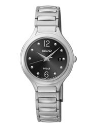 Seiko Core (Solar) Watch Model #SUT177 Powered by light energy, 6-month power reserve once fully charged. Retail Price $185.00 / Available at Andrew Gallagher Jewelers, Newark, DE (302) 368-3380.