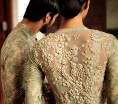 Sabyasachi # Deccan princess # hand work # sexy back # Indian fashion