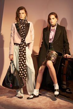 Looks from the Lanvin pre-fall 2016 collection. Photo: Lanvin.