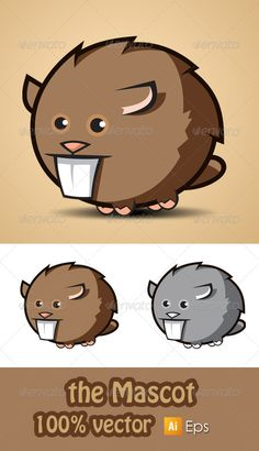 Rodent Mascot - Animals Characters
