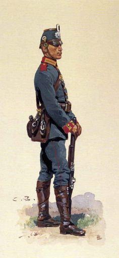 Shütze, Garde Maschinengewehr-Abteilung Nr. 1 (By Carl Becker, from the Anne S.K. Brown Military Collection)