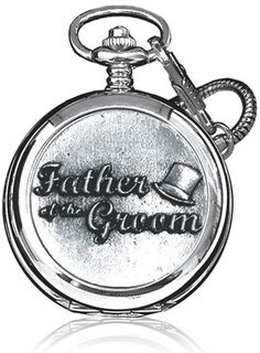 Cool father of the groom gift - pocket watch