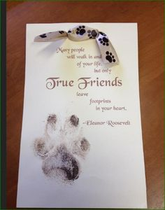 Loss of A Pet - Our Pets leave a Permanent Pawprint in our Hearts