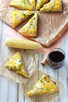 Fresh Corn and Zucchini Pizza with Gouda   cookiemonstercooking.com