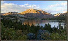 Tioga Lake, CA, outside Yosemite National Park