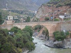 Puente Izcuchaca Huancavelica, Peru