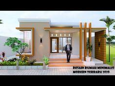 Modern Bungalow Exterior, Modern House Facades, Modern Bungalow House, Modern Exterior House Designs, House Roof Design, Village House Design, Home Building Design, Facade House, Small Modern House Plans
