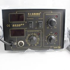 Aliexpress.com : Buy Saike 852D++  220V or 110V 700W Antistatic Digital Display 2 In 1 Hot Air Gun Solder Iron Soldering Station, DHL Free Shipping from Reliable Hot Air Gun Solder Iron Soldering Station suppliers on ShenZhen FIST Trade Technology Co., Ltd $99.89