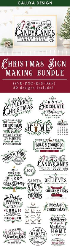 Christmas characters make SVG Cut File Bundle Deal Merry Christmas, Vintage Christmas, Christmas Holidays, Natal Diy, Navidad Diy, Silhouette Cameo Projects, Cricut Creations, Svg Cuts, Diy Craft Projects
