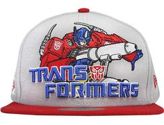 best sneakers 3624c 828f2 Optimus Prime 59Fifty Fitted Baseball Cap by HASBRO x NEW ERA Fitted  Baseball Caps, Optimus