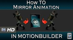 MotionBuilder Tutorial: How to Mirror Animation or Motion Capture (Basic)