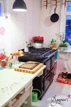 My kitchen ♥ Kitchen Cart, Kitchen Island, Home Decor, Island Kitchen, Decoration Home, Room Decor, Home Interior Design, Home Decoration, Interior Design