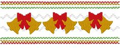 Christmas Bells Machine Smocking by Elizabeth's Embroideries  http://www.elizabethsembroideries.com
