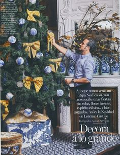 The Peak of Chic®: A Continental Take on Christmas Decor