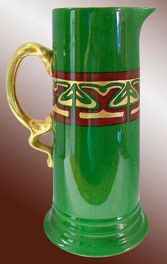 Antique Rosenthal Porcelain Pitcher Vase Art Nouveau Jugendstil Selb Bavaria possible OOAK