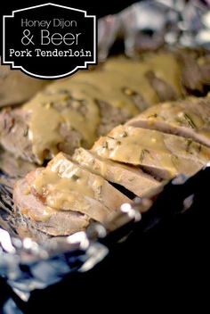 Honey Dijon & Beer Pork Tenderloin | Aunt Bee's Recipes